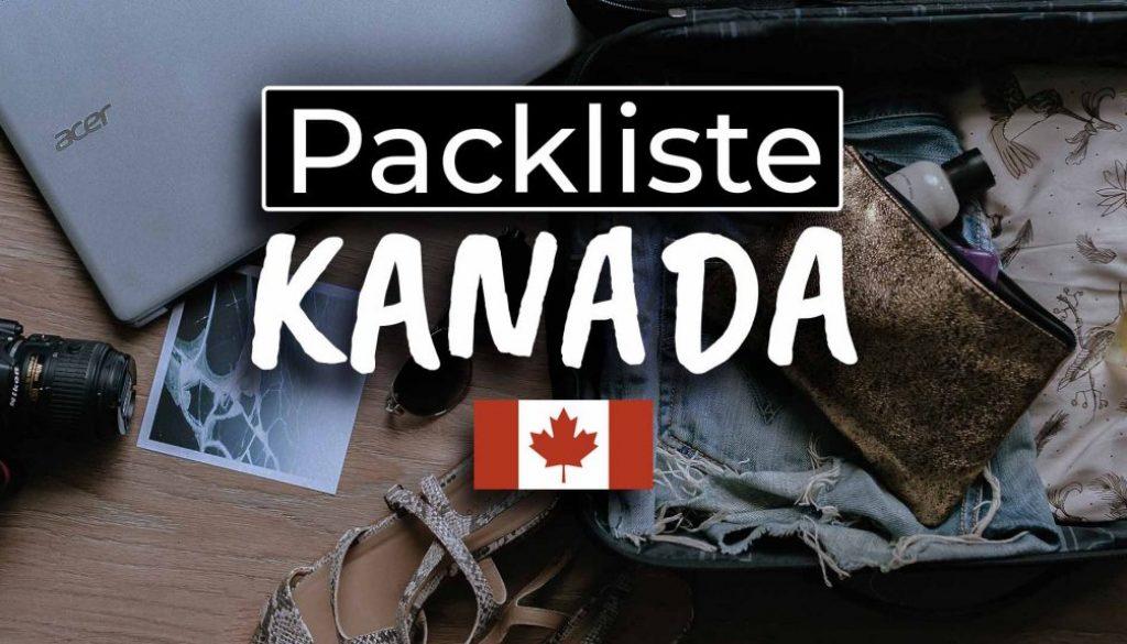 Die ultimative Work & Travel Kanada Packliste - Cover