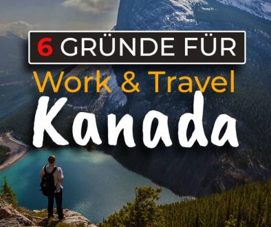 6 Gründer für Work and Travel in Kanada - Cover