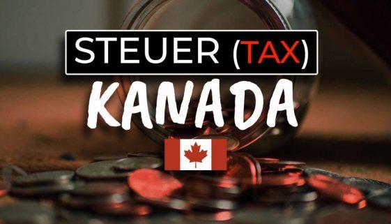Kanada Steuererklärung Work and Travel - Cover