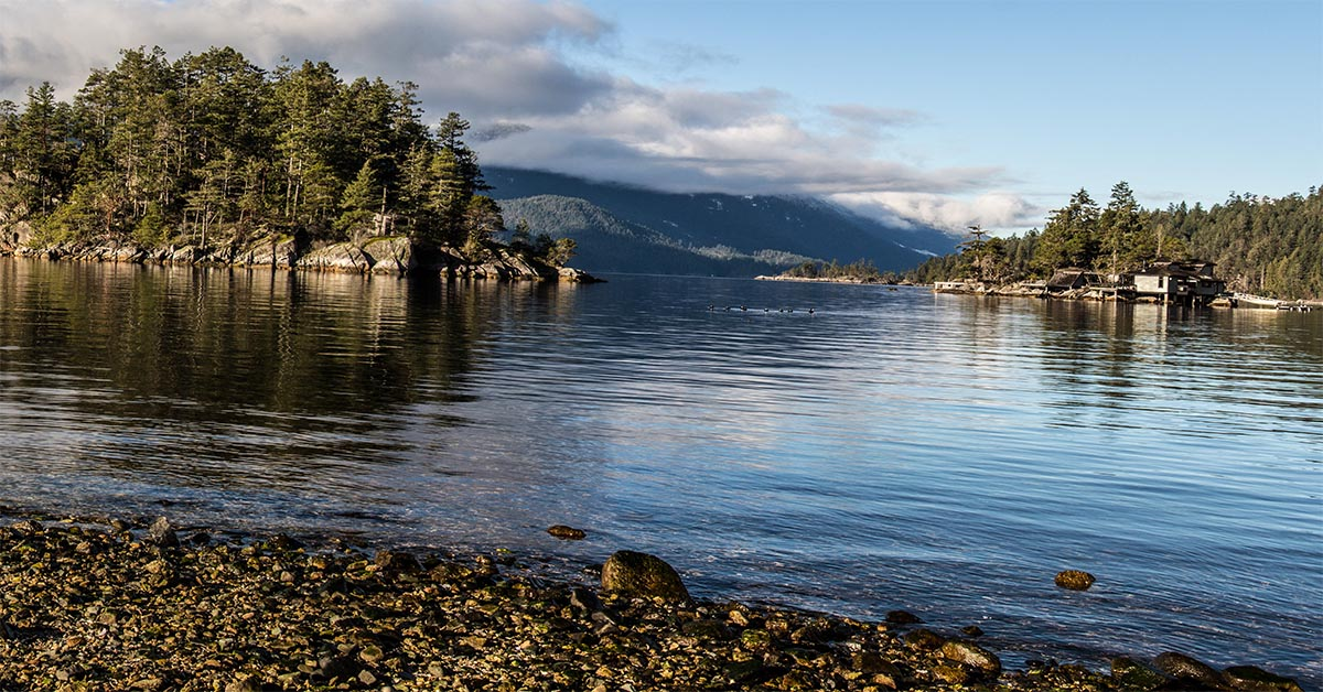 Kanada Sunshine Coast Sechelt