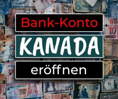 Kanadisches Bankkonto in Kanada eröffnen - COVER