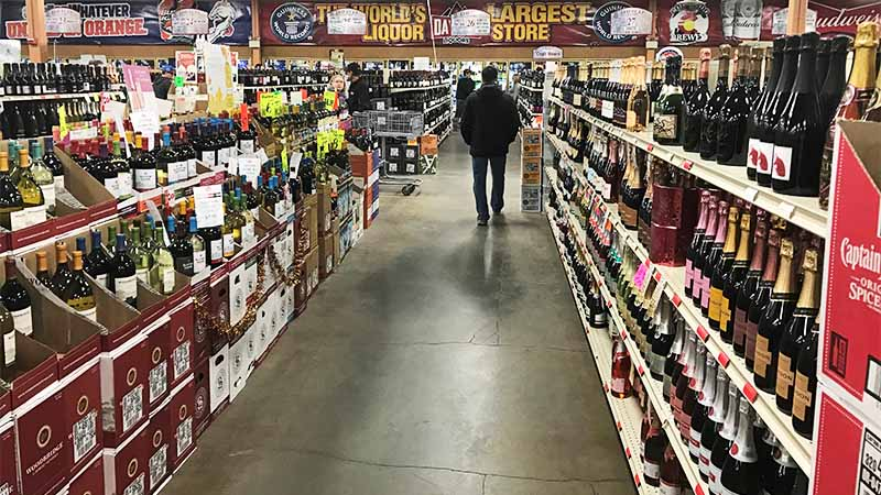 Liquidstore in Kanada - Preise für Alkohol