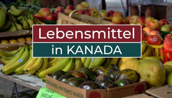 Was kosten Lebensmittel in Kanada - Cover
