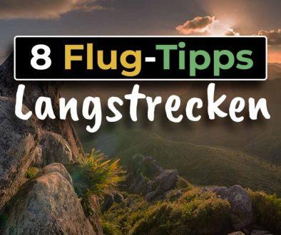 8 Tipps wie du einen Langstreckenflug überstehst - COVER