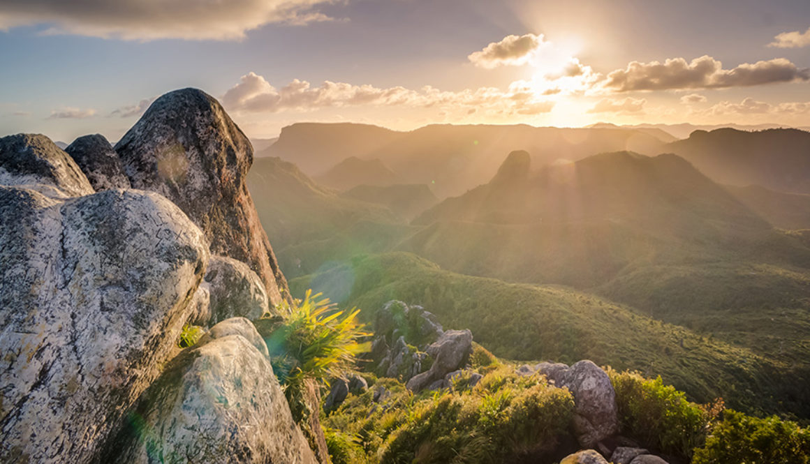 das Bild zeigt eine Berglandschaft