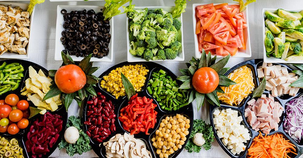 Bild zeigt gesundes Essen