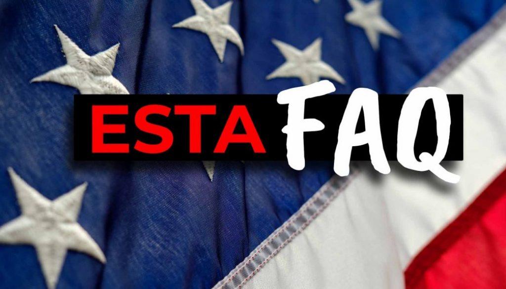 Work and Travel USA - ESTA FAQ Fragen - Cover