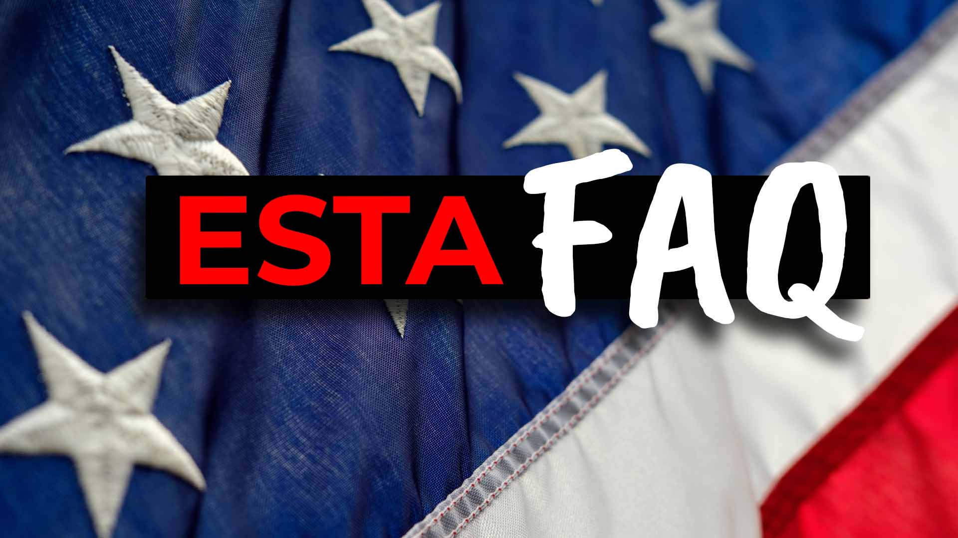 Work and Travel USA - ESTA FAQ Fragen - Cover