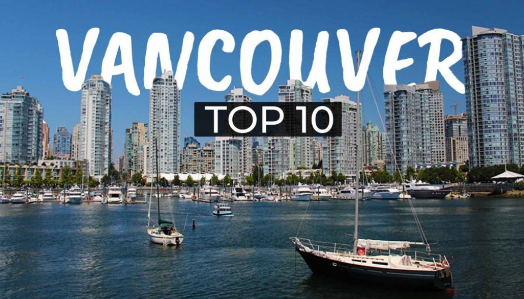 TOP 10 Sehenswürdigkeiten Vancouver - COVER