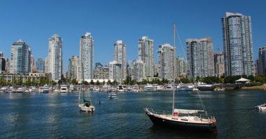 Bild zeigt den False Creek in Vancouver
