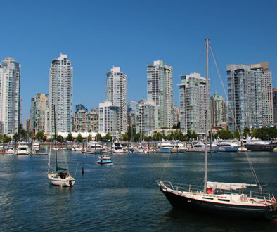 Bild zeigt den False Creek in Vancouver