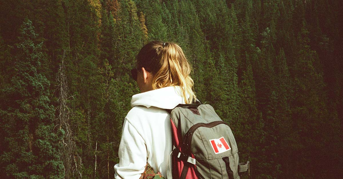 Backpack Work and Travel Kanada Jasper