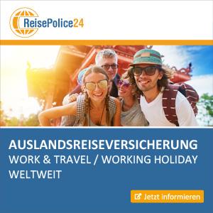 ReisePolice24 Banner Auslandskrankenversicherung