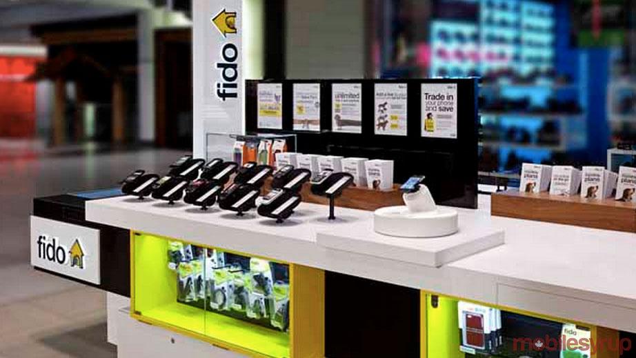 Fido Kanada Mall Prepaid Karte