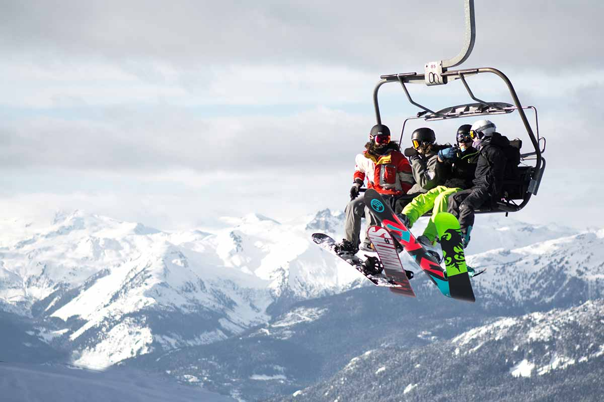 Whistler Skigebiet Kanada