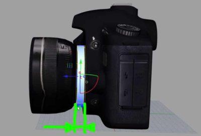 Abstand mit Adapter bei FD Objektiv mit EOS Kamera