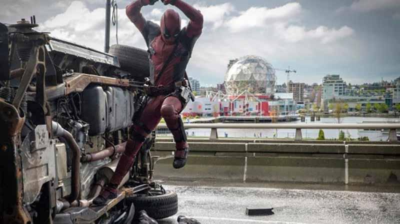 Deadpool Vancouver Filmindustrie