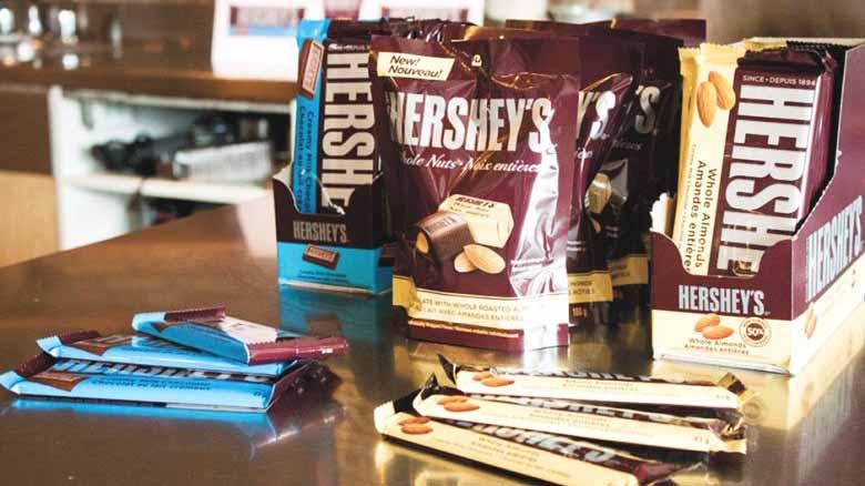 Hershys Schokolade aus Kanada