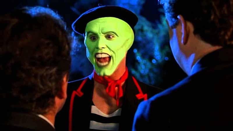 Jim Carrey aus die Maske Kanadier