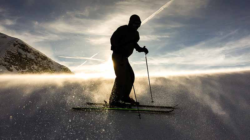 Ski Fahren in Kanada