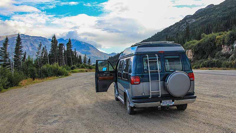 Betty Camper Van 2016 to Alaska