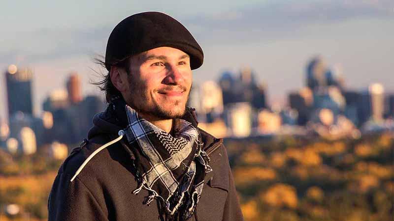 Daniel Kovacs 2016 in Calgary Kanada