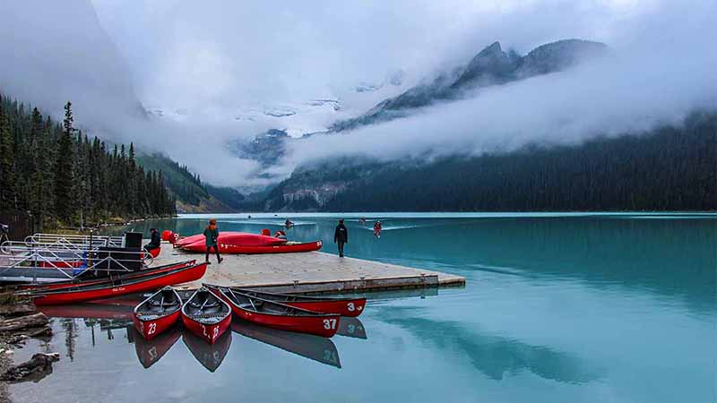 Lake Louise 2016 in Kanada