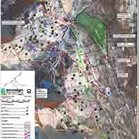 Kanada Fortress Mountain Skigebiet - Karte Post renewal