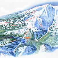Lake Louise Skigebiet - Karte OVERVIEW