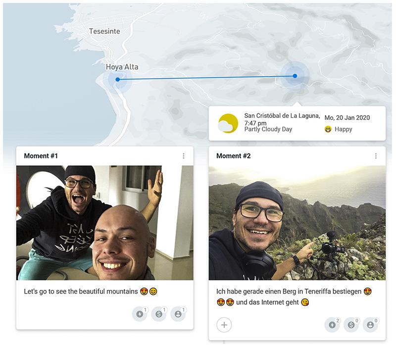 Travel Quest - Travel Journal Map mit Daniel und Nils