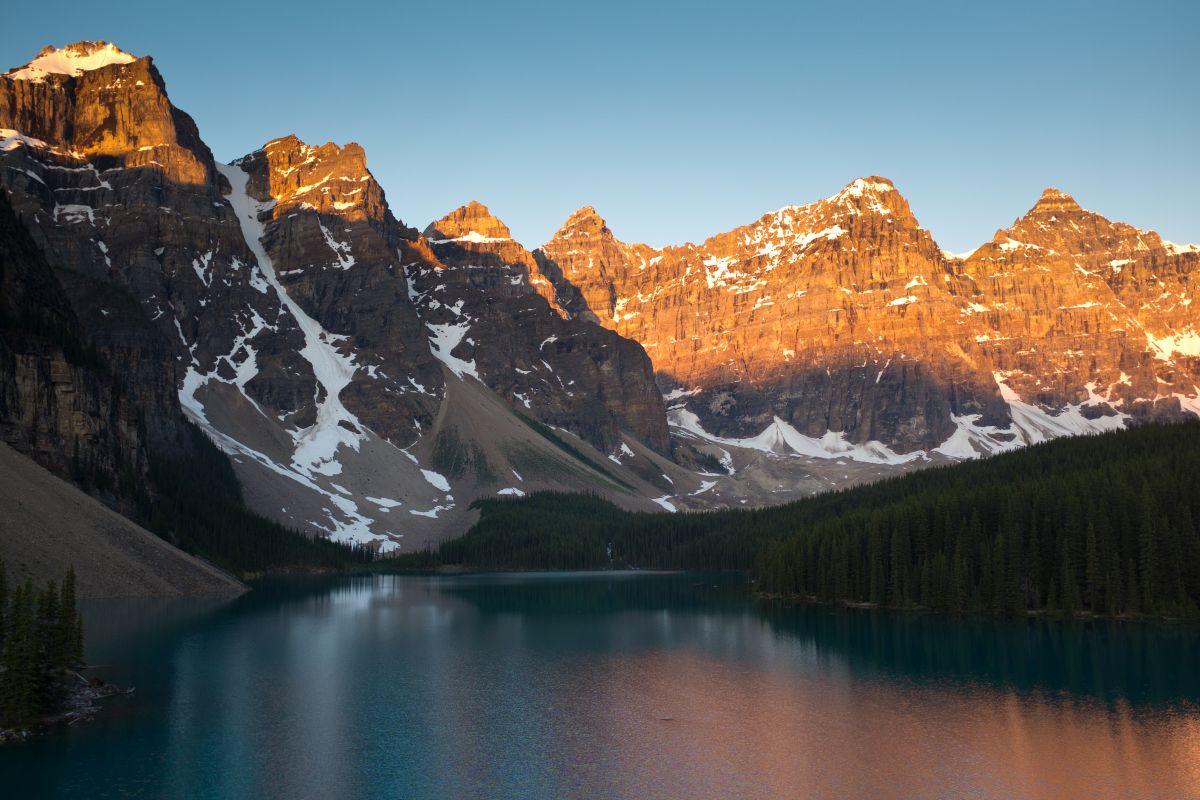 Auslandsaufenthaltes in Kanada der Morain Lake