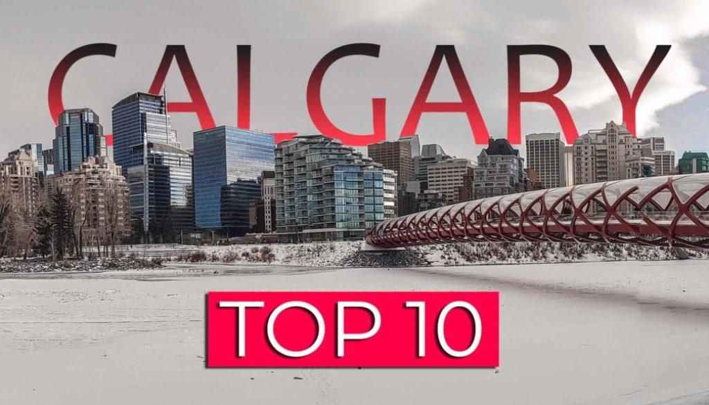 Calgary Kanada TOP 10 Sehenswürdigkeiten