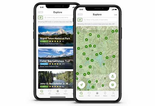 Kanada Reise Apps - AllTrails