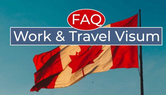 Work and Travel Kanada Visum FAQ - Cover