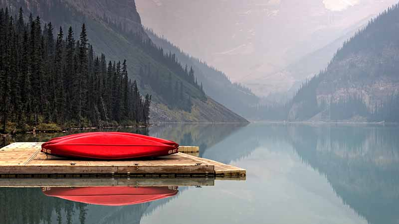 Kanada Versicherung und Lake Louise