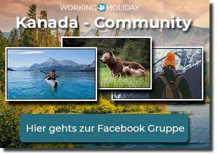 Working Holiday Kanada Facebook Gruppe - Community