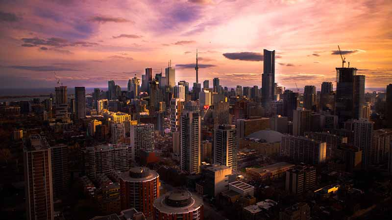 wo in Kanada starten - Toronto