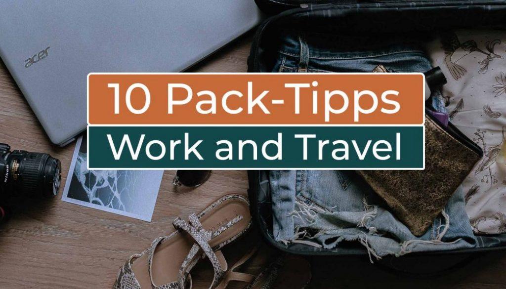 10 Tipps zum Packen Work and Travel in Kanada