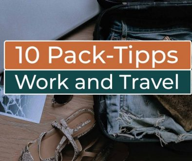 10 Tipps zum Packen Work and Travel in Kanada