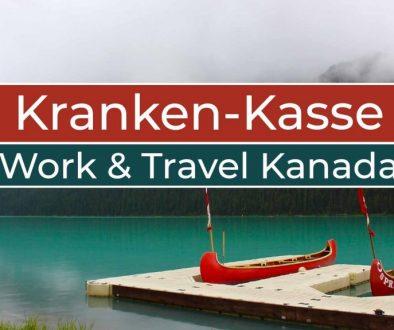 Krankenversicherung in Deutschland bei Work and Travel in Kanada - Cover