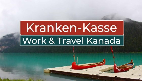 Krankenversicherung in Deutschland bei Work and Travel in Kanada - Cover
