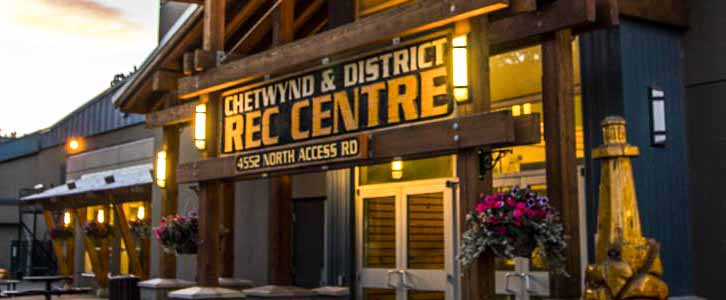 The Chetwynd and District Recreation Centre in Chetwynd