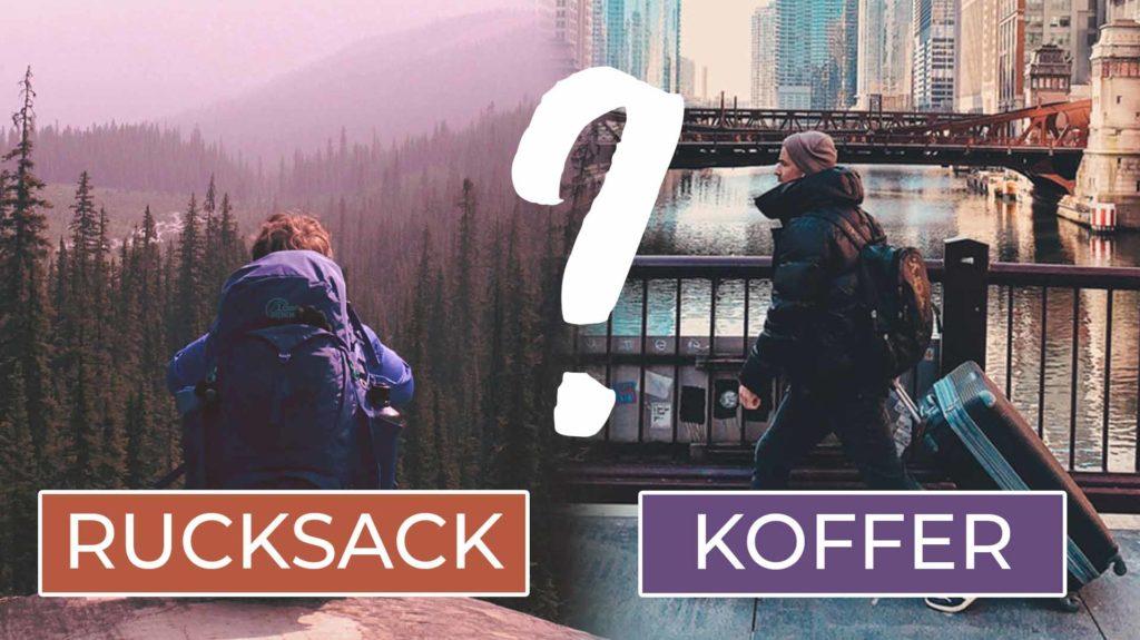 Work and Travel Kanada Rucksack oder Koffer - Cover