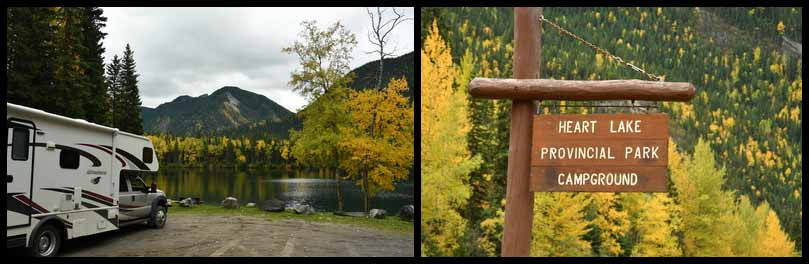 chetwynd - heart lake provincial park campground