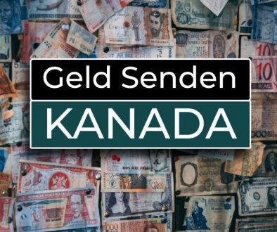Geld von Kanada nach Deutschland senden - Cover