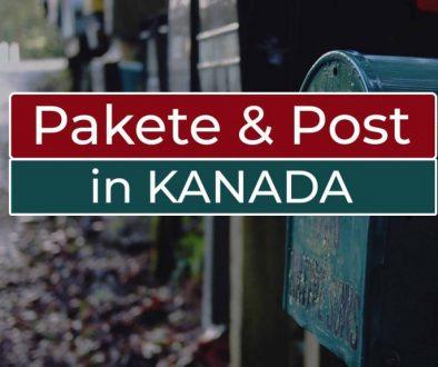 Pakete und Post in Kanada - Cover