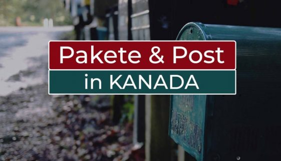 Pakete und Post in Kanada - Cover