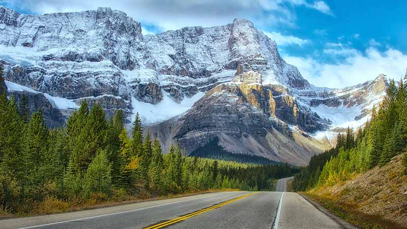 Reisepartner in Kanada und Banff Nationalpark