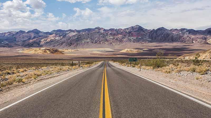 Road Trip USA mit Reisepartner - Death Valley
