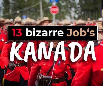 13 bizarre Jobs die es nur in Kanada gibt - Cover
